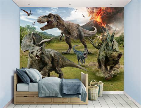 Jurassic World Fallen Kingdom Xl Wallpaper Mural Walltastic