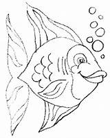 Coloring Pages Fish Fishing Pout Puffer Drawing Printable Colouring Bass Getdrawings Educative Rainbow Getcolorings sketch template