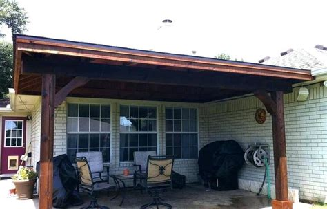 shed patio covered gable roof  deck plans cost