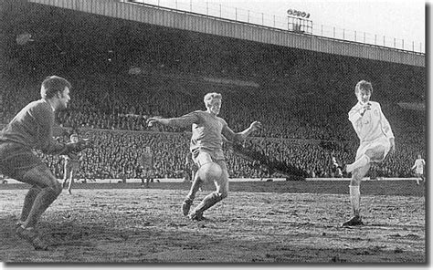 7th February 1970. Allan Clarke hits his second goal ...