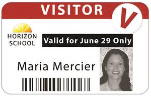 Visitor ID Badge System