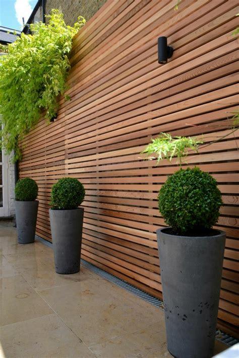 Sichtschutz Aus Holz Fur Garten Bvraocom