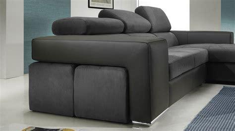 tabouret pour bureau canapé d 39 angle design microfibre pas cher canapé angle