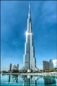 The burj khalifa dubai uae architecture and landscape for Burj al khalifa how many floors
