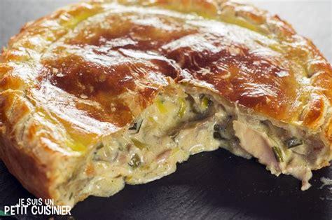 recette de cuisine anglaise recette de tourte au poulet et aux chignons cuisine