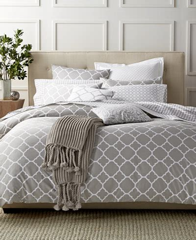 charter club damask designs geometric dove bedding