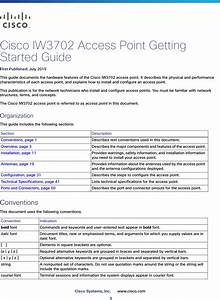Cisco Systems Iw3702 Cisco Industrial Wireless 802 11ac