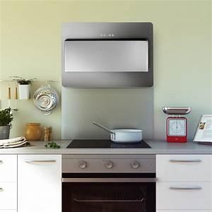 fond de hotte en inox credence de cuisine hauteur 45 cm With hauteur de credence cuisine