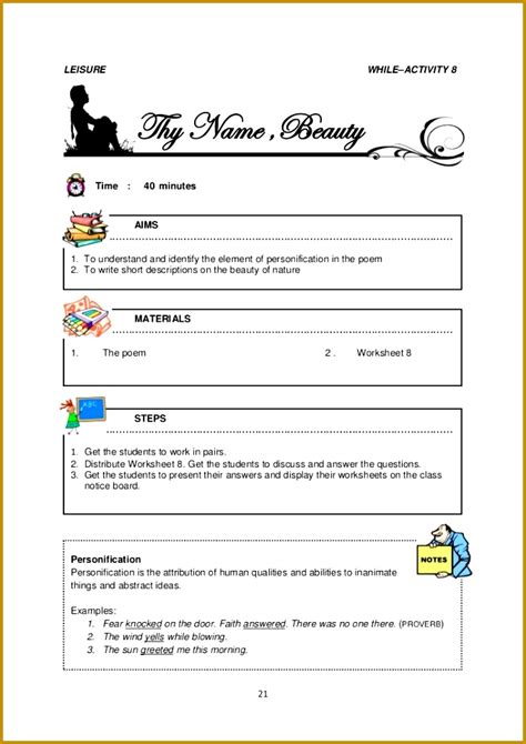 identifying tone  mood worksheet fabtemplatez