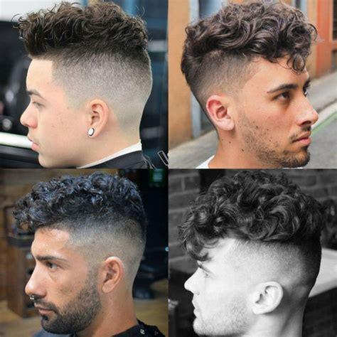 The Curly Hair Undercut   Men's Hairstyles   Haircuts 2017