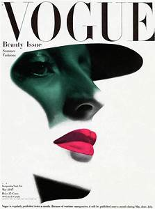 Vogue Cover Featuring A Woman U0026 39 S Face Photograph By Erwin