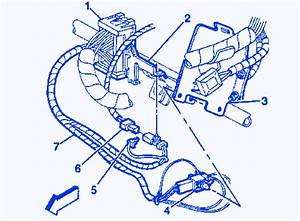 Gmc Z71 2003 Under Dash Electrical Circuit Wiring Diagram