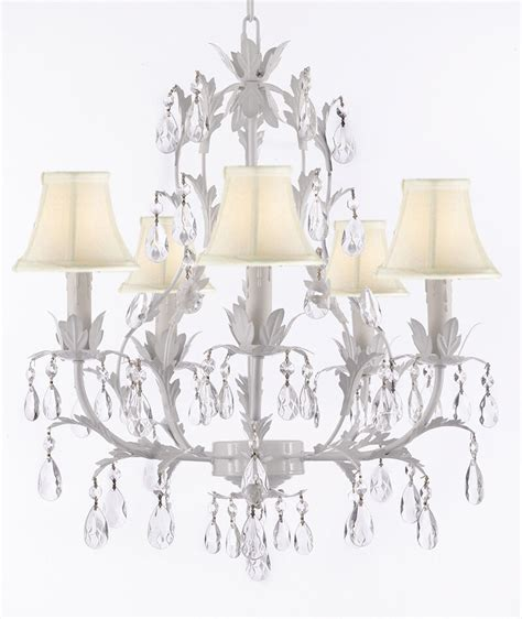 wrought iron chandeliers with shades 5 light wrought iron white chandelier shades