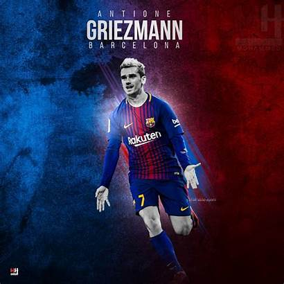 Griezmann Barcelona Wallpapers Barca Antoine Jersey Soccer