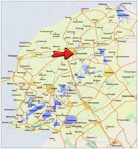 Vaarbewijs Friesland by Routes Varen Met Een Motorboot In Friesland De Verhuur In