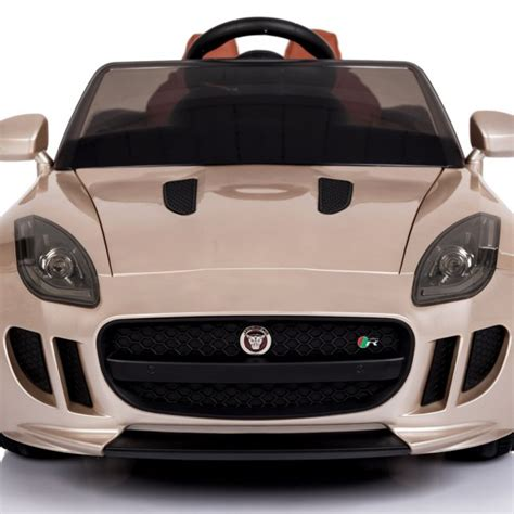 Jaguar F-type Ride On Car Champagne Dmd-218