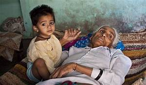 Pictured: world's oldest mother, 70, lies dying with baby ...