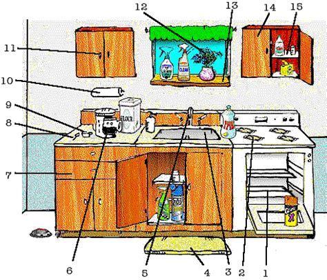 Pre Intermediate Vocabulary   In The Kitchen   esl lounge