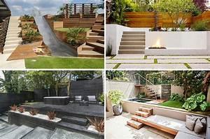 Terrasse am hang praktisch und modern gestalten 10 tolle for Terrasse am hang