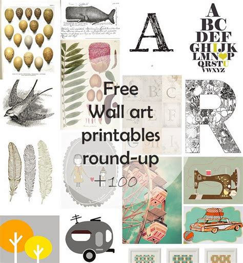 diy monday  wall art printables housestairs