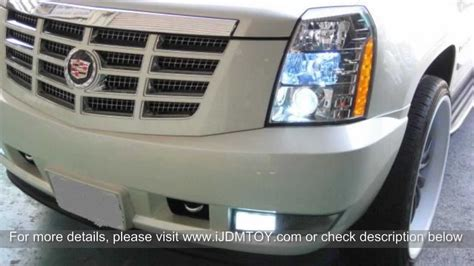 68 smd 1210 5202 aka h16 led bulbs on 2010 cadillac