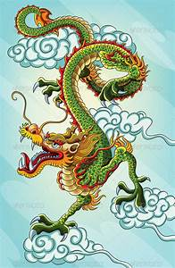 Chinese Dragon Painting | Chinese dragon and Dragons