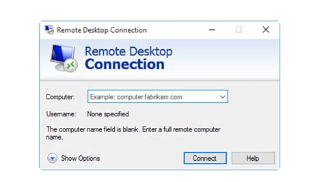 remote desktop connection  windows  pc
