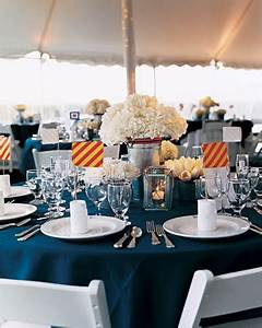 it should be exactly as you want becauseit39s your party With nautical wedding table decor