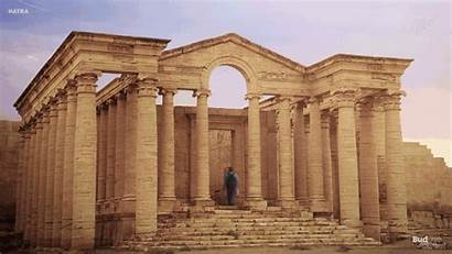 Fortifications Hatra Ancient Reconstructed Iraq Nineveh Reconstruction
