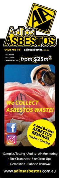 asbestos removal queensland adios asbestos removal