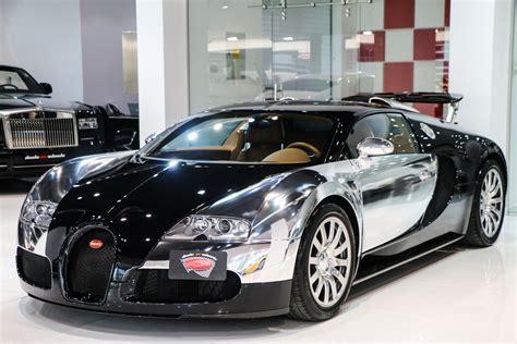 Bugatti Veyron Forsale by Stunning Chrome And Black Bugatti Veyron For Sale Gtspirit