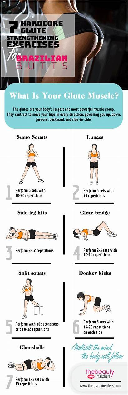 Butt Bubble Workouts Exercises Glute Workout Glutes