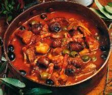 cuisine corse veau aux olives sauté de veau aux olives corse food and recipes