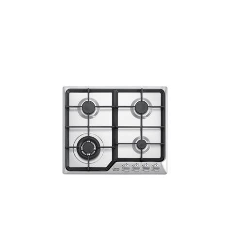 piani cottura ad incasso piano cottura 60 cm in acciaio inox satinato per cucina ad