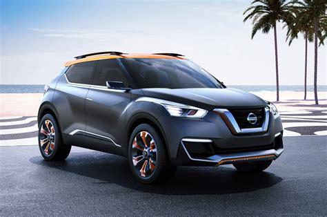 Nissan Kicks SUV Concept Debuts in Sao Paulo