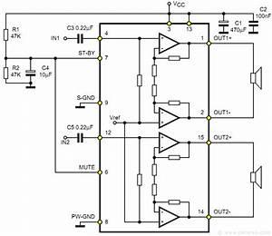 Tda7297 15w   15w Stereo Amplifier Kit