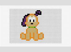 Pixel Art Puppy Easy Draw 4