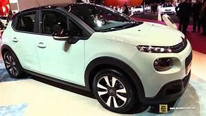 Citroën C3 Puretech 82 Bvm Feel : 2017 citroen c3 puretech 82 exterior and interior walkaround debut at 2016 paris motor show ~ Medecine-chirurgie-esthetiques.com Avis de Voitures