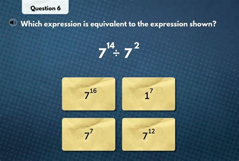 what expression is equivalent to the expression shown ...