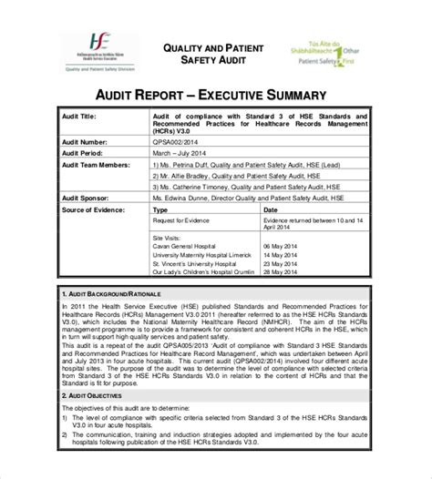 summary report template    apple pages