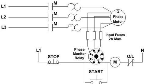 phase sequence wiring diagram c liquid level relay l l is used to download scientific diagram