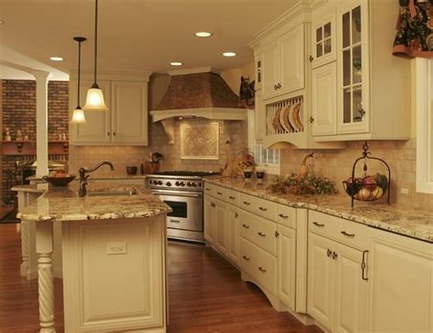 Country kitchen backsplash photos