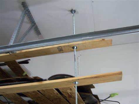 Garage Shelving Hanging by Overhead Garage Storage Looking To Build Overhead