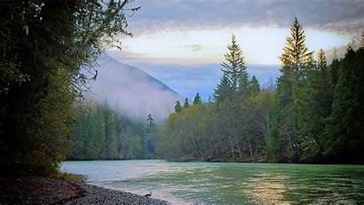 Alaska River Wallpapers Rivers Skeena Kitsumkalum Spring