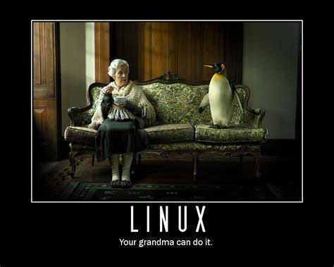 environnement bureau linux arrêter de râler même une grand ma peut utiliser ubuntu