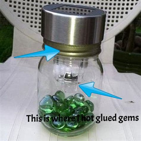 hometalk 12 clever ways to make jar solar lights