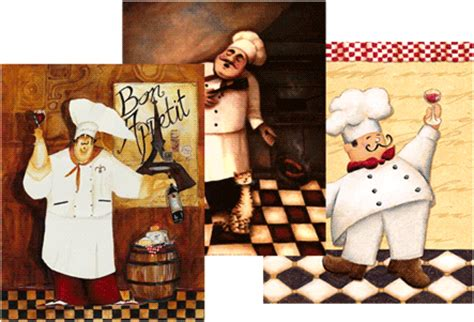 Chef Kitchen Decor by Chef On Chef Kitchen Decor Chefs And