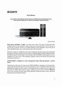 Sony Da2400es Manual Ebook