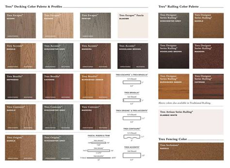 Trex Transcend Decking Colors by Pewter Decks And Front Deck On