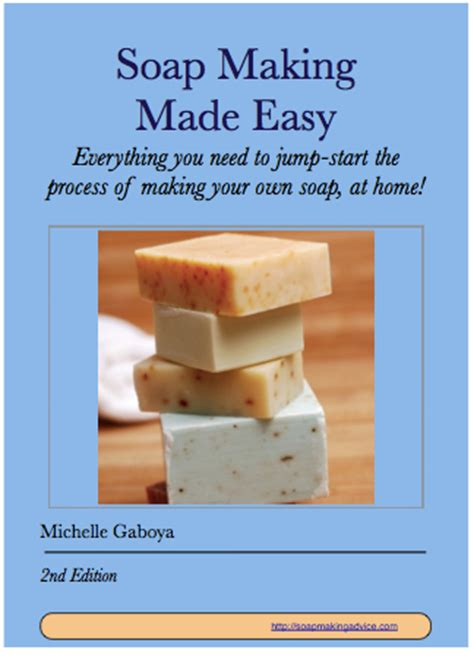 book review soap making  easy